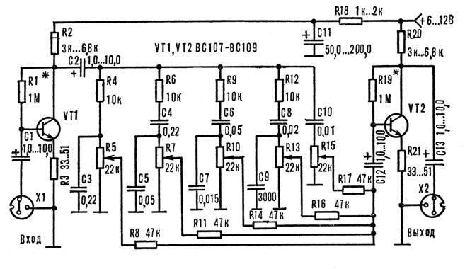транзисторы серий КТ3102,